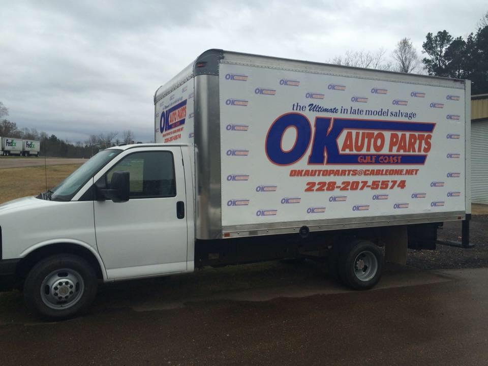 OK Auto Parts - Home